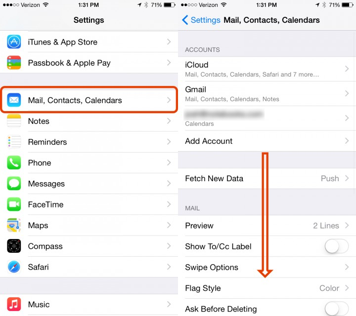Get started setting the default iPhone calendar.