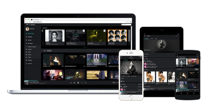 What is TIDAL and how does it compare to Spotify?