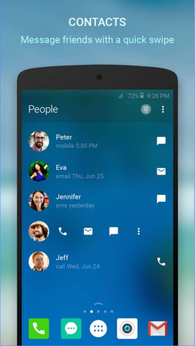 arrow launcher for Android