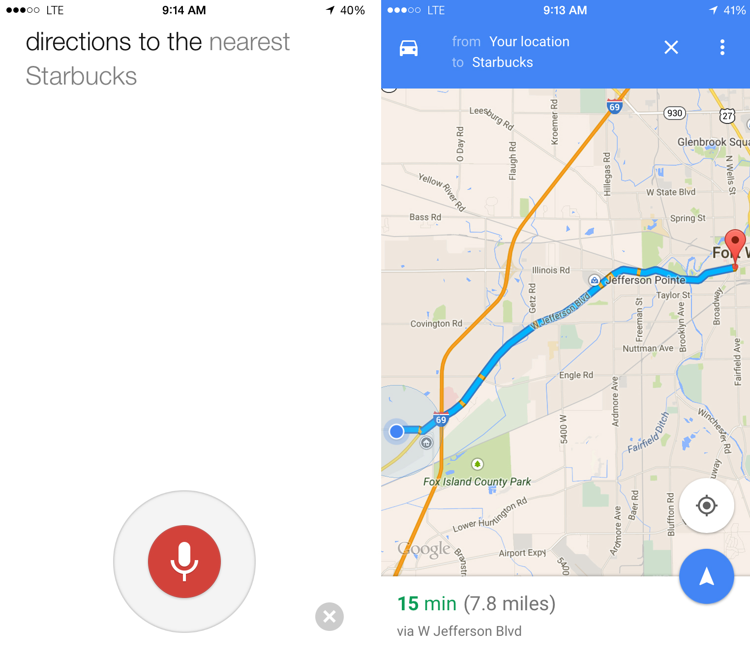 on how to use new google maps