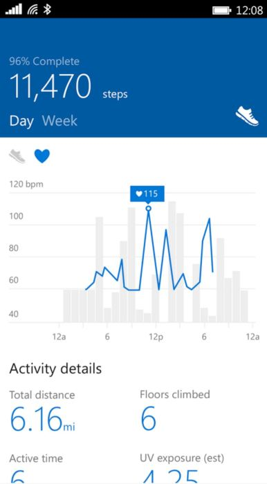 microsoft health for android