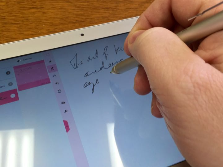 Toshiba Encore 2 Write Windows 8.1 Tablet - best inking tablet