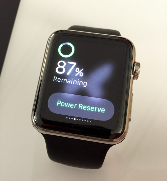 Low Power Mode as a Watch