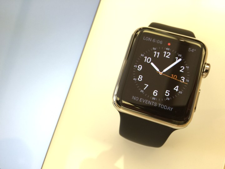 If you want an Apple Watch, place a pre-order now.