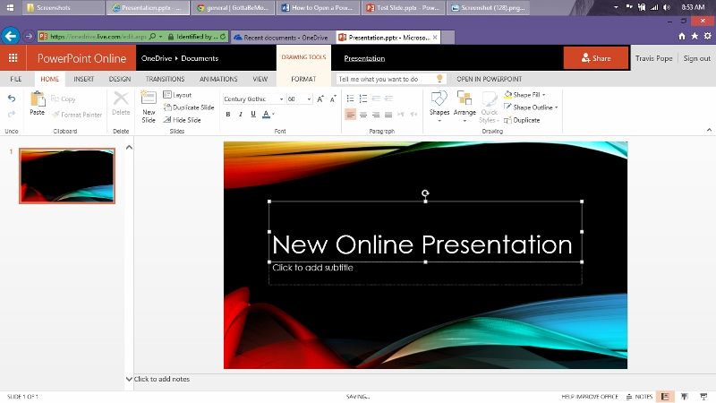 how to open  u0026 edit a powerpoint presentation online free