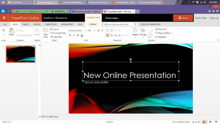 How to Open a Power Point Presentation Online (4)