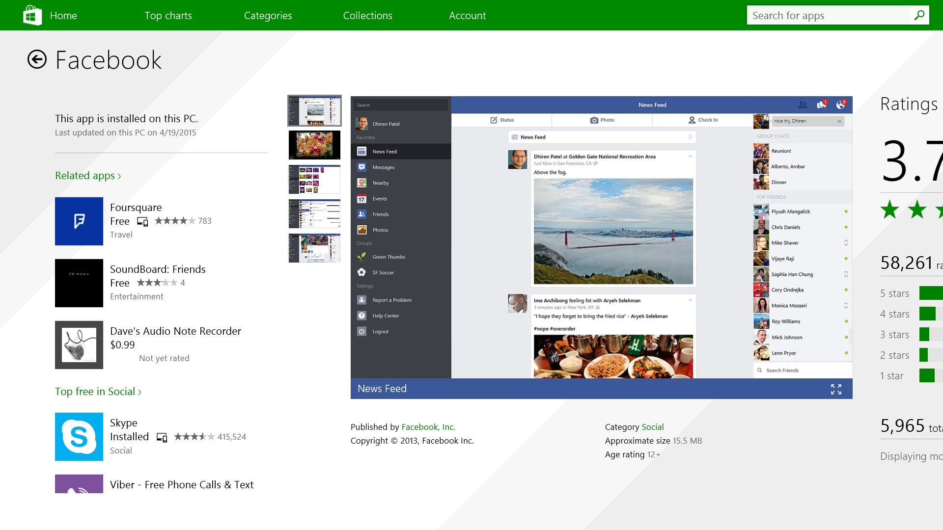 How to use facebook - How To Use Facebook On Windows 8 1 3