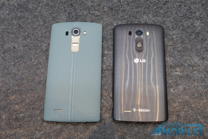 Even with a big screen, the LG G4 isn't a massive phone.