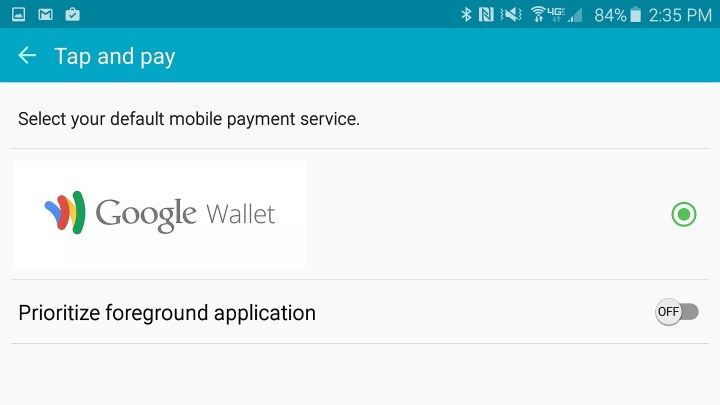 Turn on NFC and install Google Wallet to make payments.