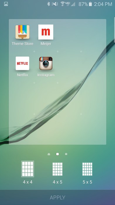 Show more apps on your home screen.