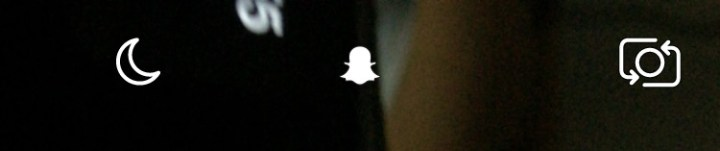 take brighter Snapchat photos in low light.