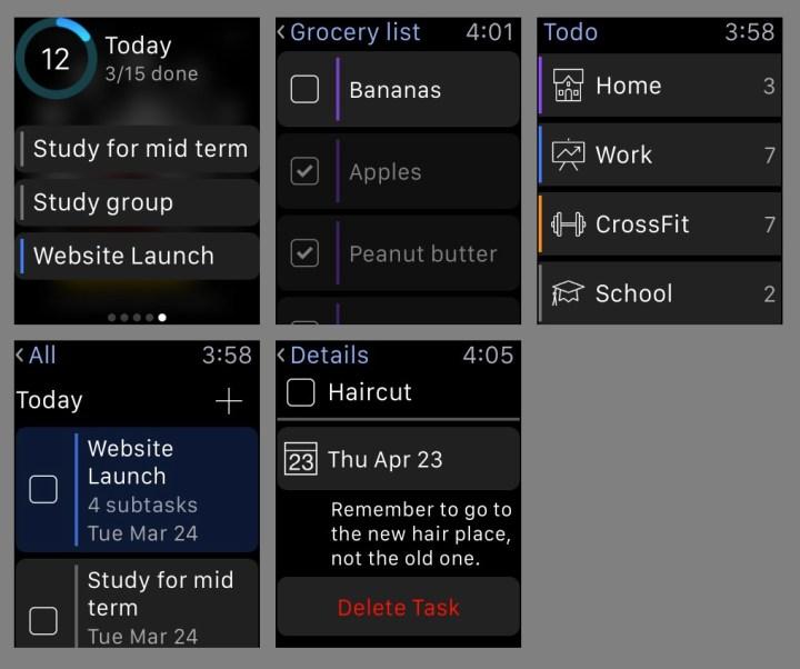 Todo Apple Watch App