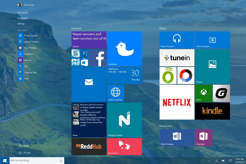 how to get windows 10 for free from windows 7