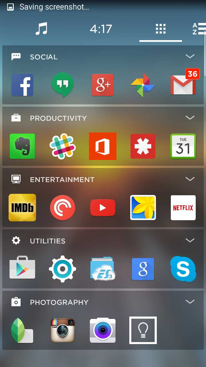 yahoo aviate launcher apps collections