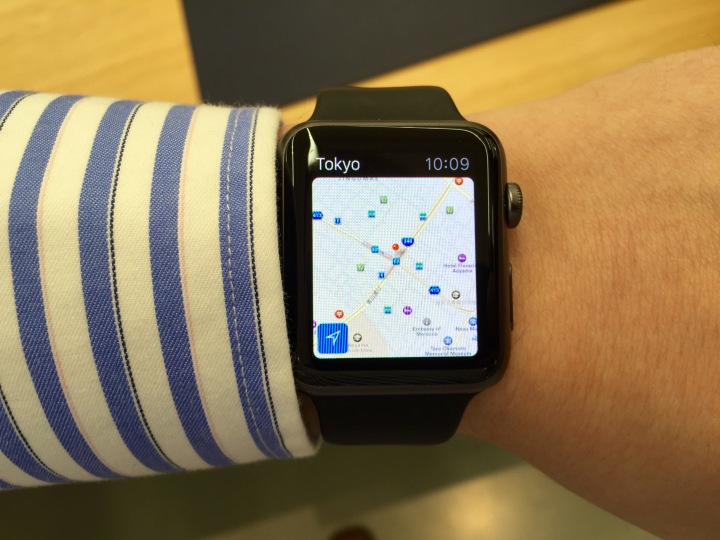 If you are traveling, you should wait until you are home before you install the Watch OS 1.0.1