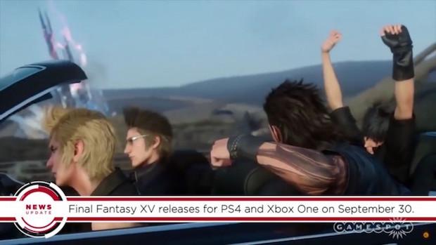Final Fantasy 15 Release Date Confirmed