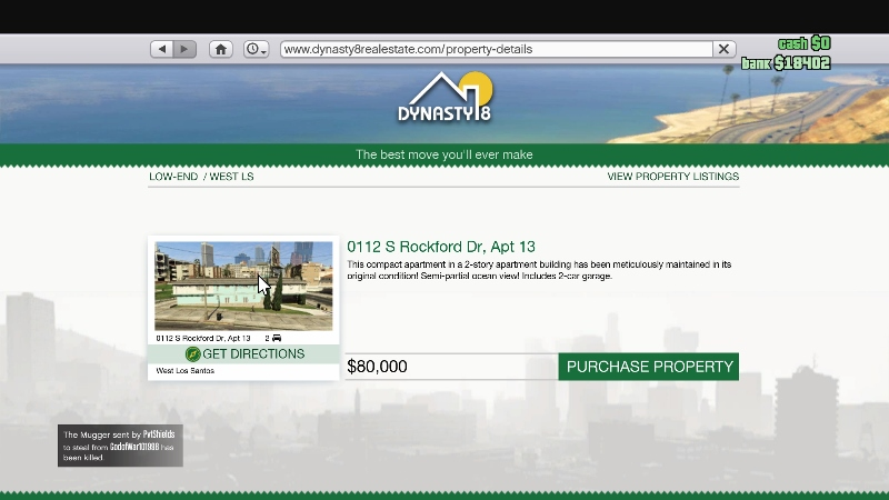 All The Properties You Can Buy in GTA 5's GTA Online
