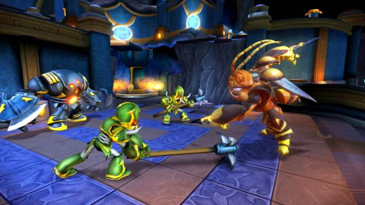 Skylanders Giants Swam
