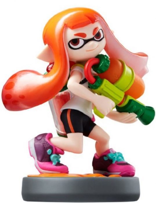 splatoon amiibo inkling girl