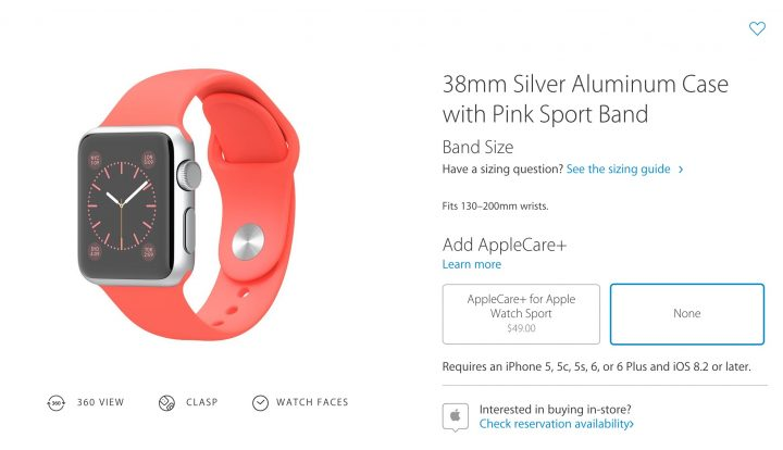 Learn how to reserve an Apple Watch for in-store pickup at an Apple Store.