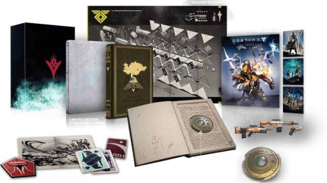 Destiny The Taken King Collector's Editions