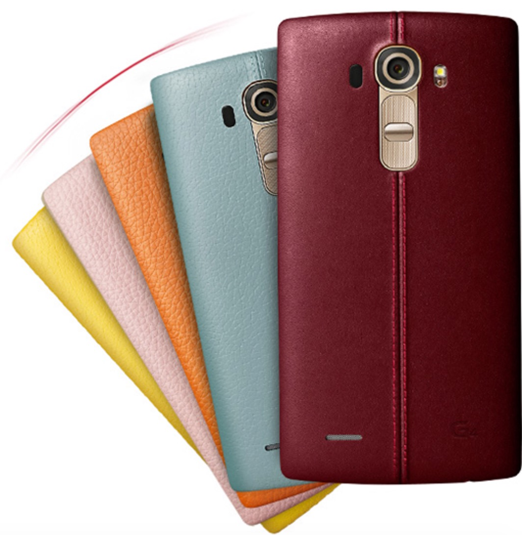 LG G4 Leather Backs Released for Buyers