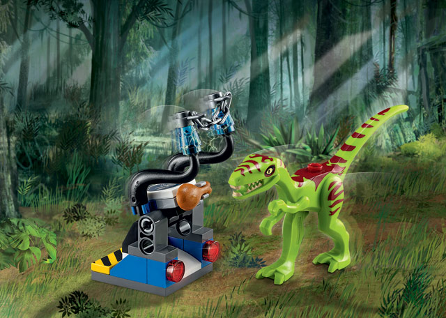 Get a free Lego set with the Lego Jurassic World pre-order.