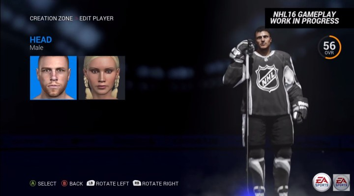 Female Players in NHL 16