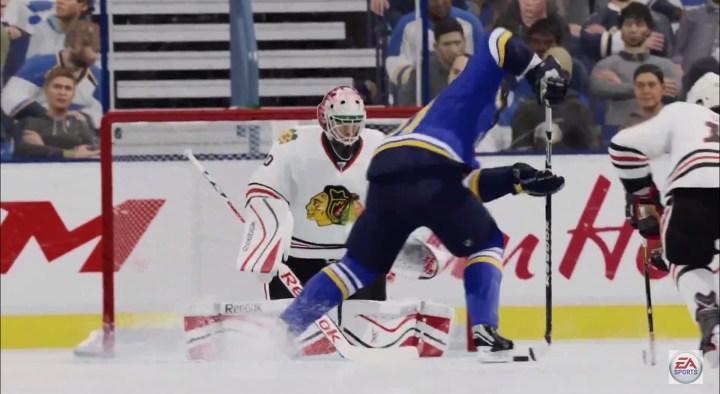 NHL 16 Goalie Controls