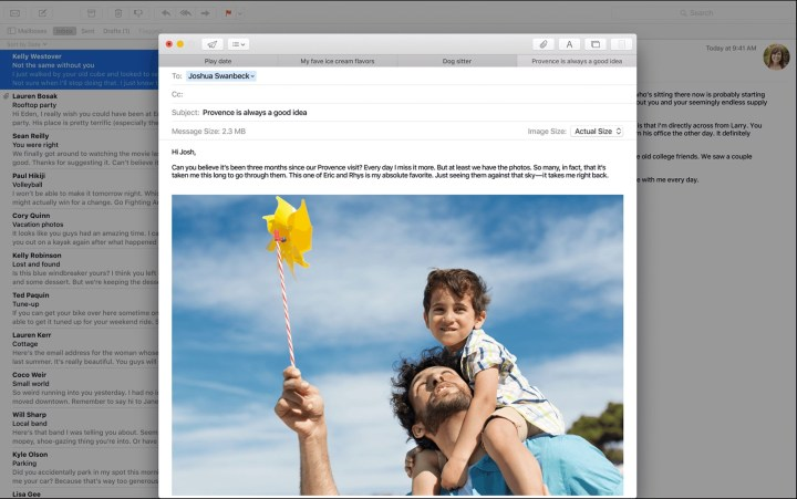 Better OS X Mail App in El Capitan