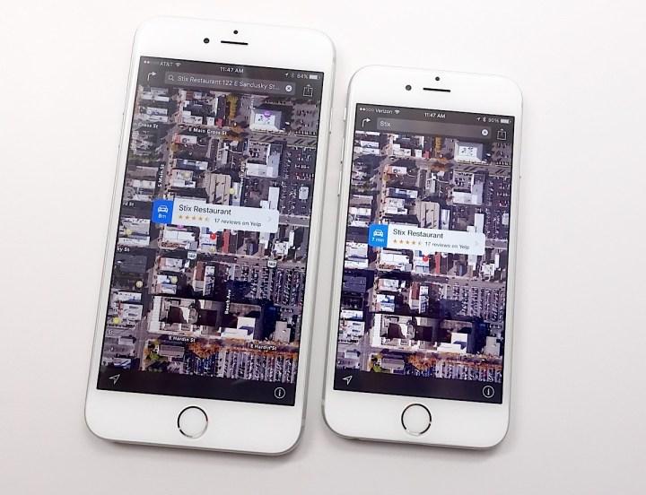 iOS 9 vs iOS 8 Apple Maps