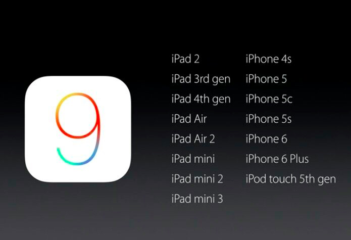The iPhone 4s iOS 9 update is confirmed.