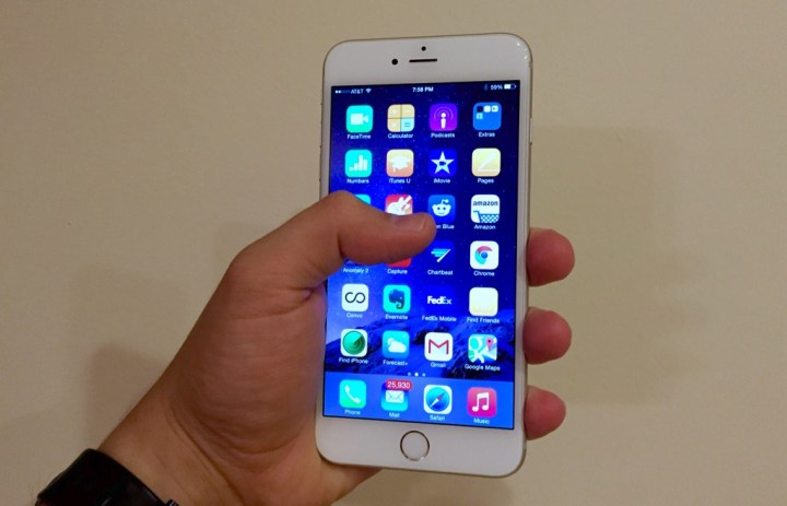 We may see an iPhone 6s with Force Touch.