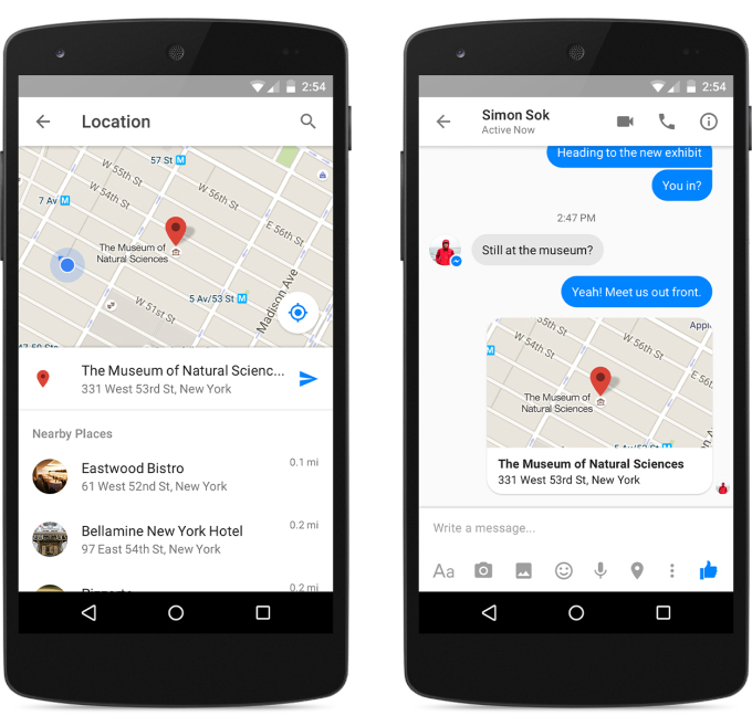 messenger-location-android