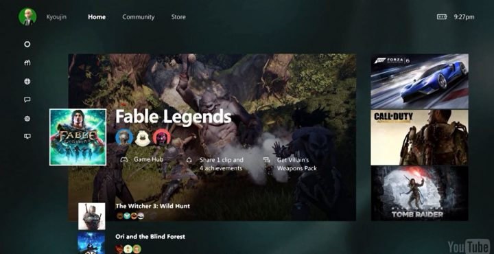 new xbox one experience