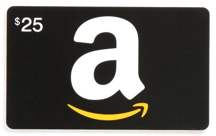Get $10 with a Amazon Gift card purchase.