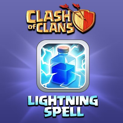 Clash of Clans Lightning Spell
