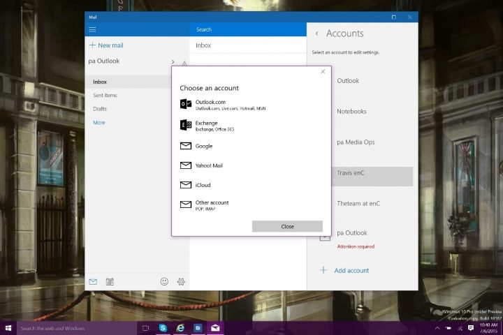 How to Add Emal Accounts to Windows 10 (6)