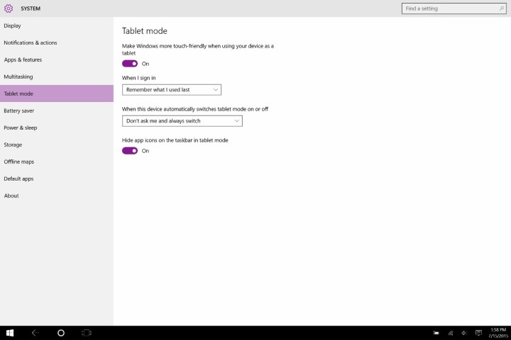 How to Use Touch Mode in Windows 10 (5)