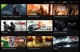 NVIDIA Shield TV Grid Games