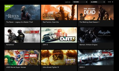 NVIDIA Shield TV Grid Games