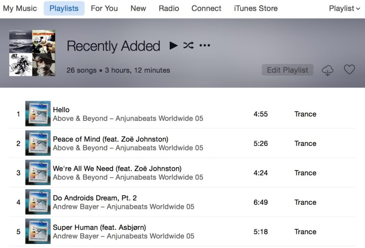 Use a smart playlist to recreate Spotify playlists in Apple Music.