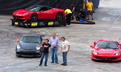 There is an Amazon Top Gear replacement featuring the famous trio of hosts and drivers. Daleen Loest / Shutterstock.com