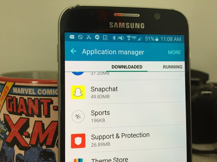 How to uninstall the Snapchat update.