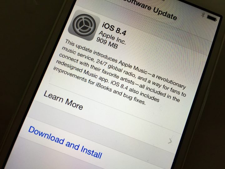 What you need to know about the iPhone 4s iOS 8.4 update.