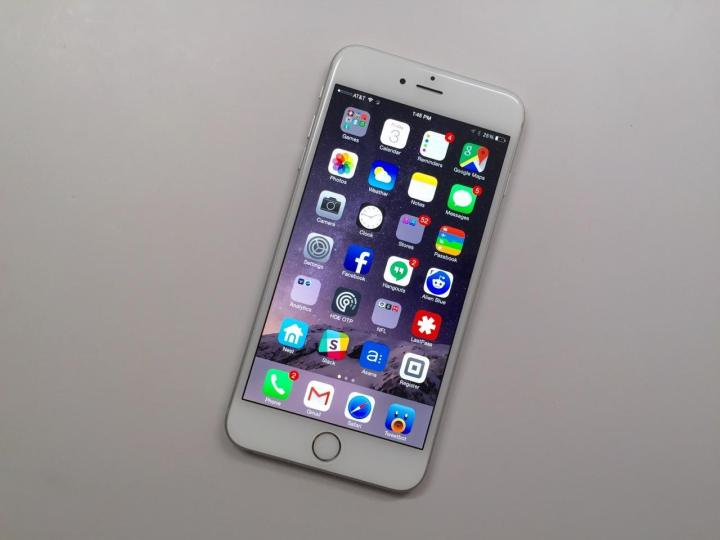 iPhone 6s Plus Force Touch Display