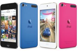 The iPod Touch is thinner than the iPhone 6s and still has a headphone jack.