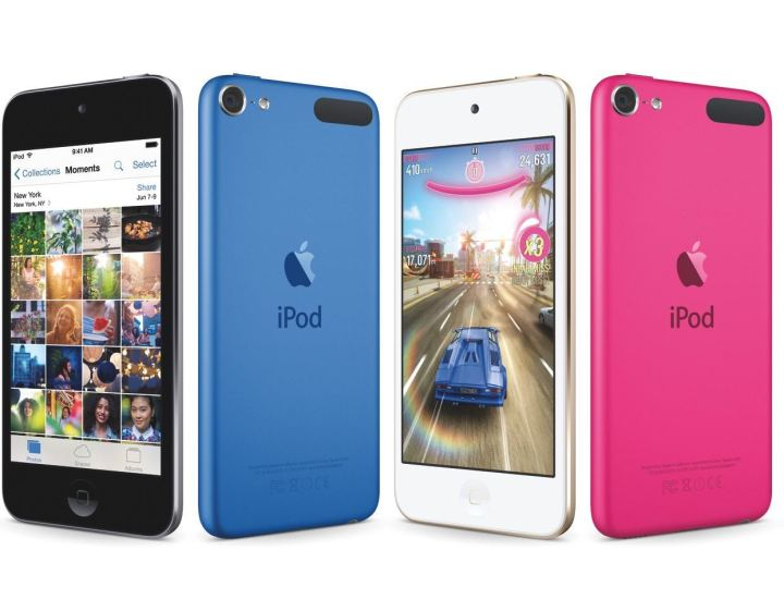 iPod Touch Colors & Design