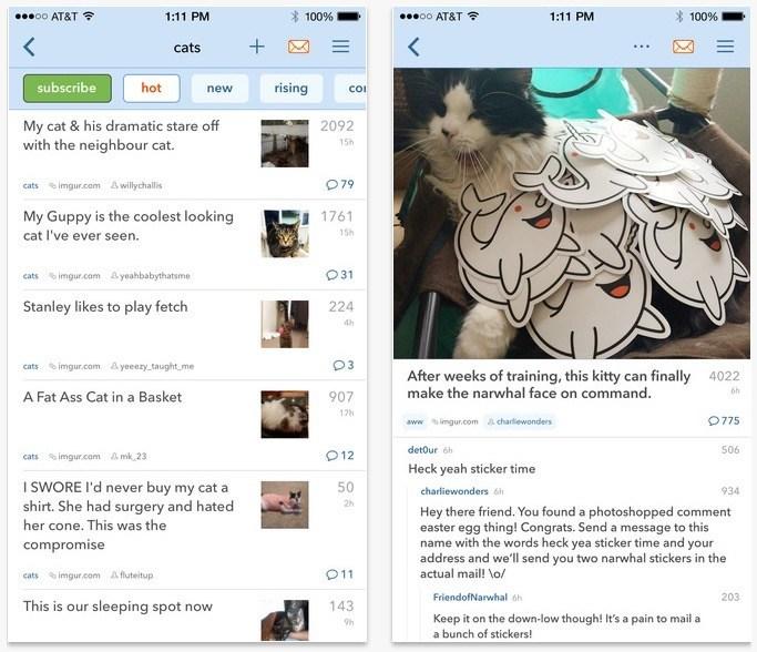 Best Reddit App for iPhone