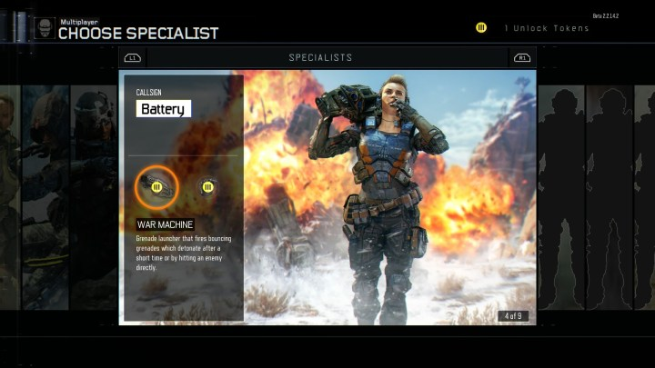 Try Out Each Specialist